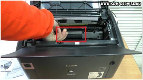 Как достать картриджи из принтера канон
