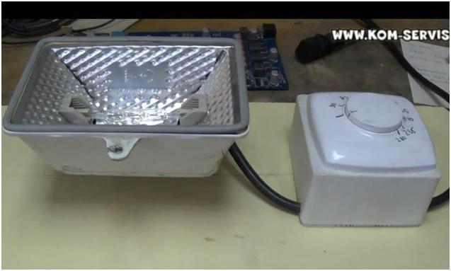 Лампа инфракрасная для паяльной станции