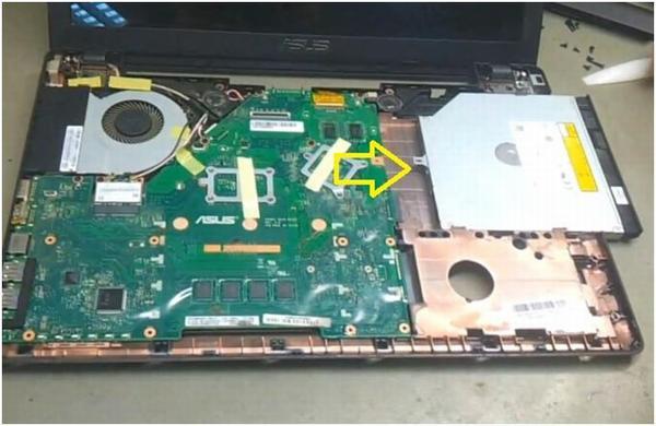 Ремонт оптического привода ноутбука своими руками