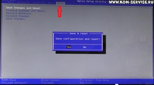 Как переустановить ноутбук acer