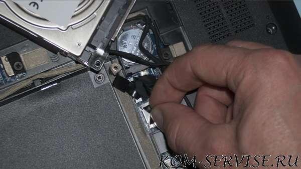 Как заменить жёсткий диск в ноутбуке