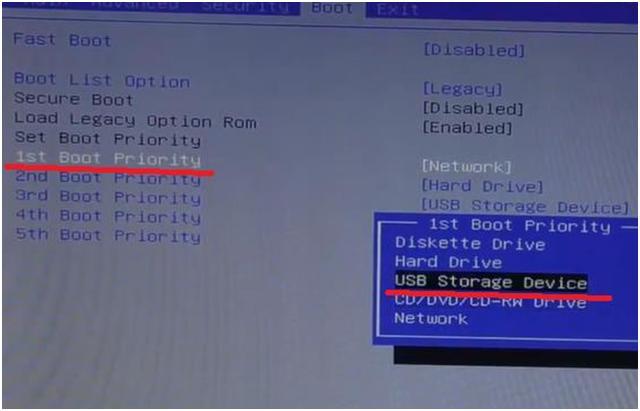 Настройка BIOS ноутбука Dell Inspiron 15 для установки